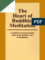 Heart of Buddhist Meditation - Nyanaponika Thera