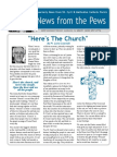 News from the Pews