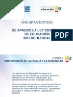 Nueva Ley Educacion Intercultural