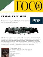 Newsletter - Abril de 2012
