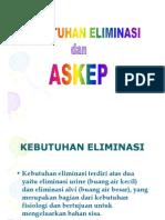Kdm Slide Kebutuhan Eliminasi Dan Askep