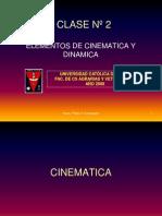 Clase2 Cinematica y Dinamica