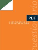 Cuestionario de autoevaluación EFQM