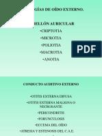 Patologías de oído