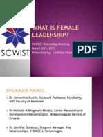 What is Female Leadership?