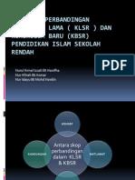 Analisis Perbandingan Kurikulum Lama Klsr & Kbsr