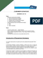 Planeamiento Estrategico - Separata - 2009.2