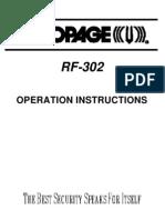 RF302 Operation