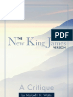 Critique of the New King James Version