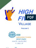 High Five Pre Camp 2 Final