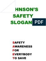 Johnson's Safety Slogans Version1-0