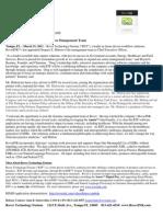 Rover Technology Fusions Press Release Greg Matton