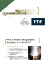 MERGERS & Amalgamation- Presentation by Payel Jain