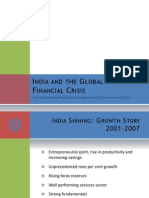 India and the Global Financial Crisis