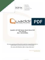 QT-500 Series User Manual Rev Dic 20 2006