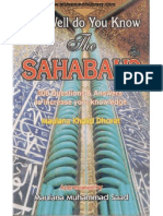 How Well Do You Know Sahabah r.a.
