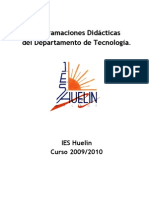 Programación de tecnología andaluza 2009-2010