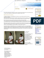 Ejercicio Yoga Energia