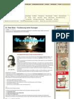 Dr. Peter Beter – Kurzfassung seiner Aussagen - www.politaia.org