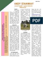 Sandy March 2012 Newsletter