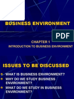 Business Environment Slides