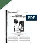 Víctor Manuel Rodríguez - Cine menor y performatividad queer