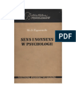 Eysenck, H. J. - Sens i Nonsens w Psychologii - 1965 (Zorg)