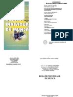 Manual Relatii Individuale de Munca