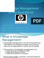 Knowledge-management MIS Presentation Final