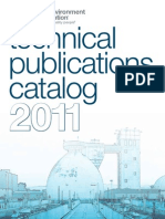 2011 Technical Publications Catalog
