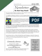 2008-12 HPC Newsletter