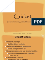 Tutorial 8 Cricket