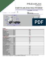 Premium 440.25-26 t6x2 Pusher