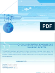 Collaborative Knowledge Sharing Portal