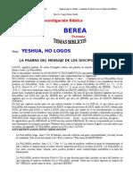 Yehshua, Ho Logos