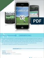 Caddies Call