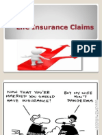 Underwriting of Risks & Claims Management_LIFE INS CLAIMS