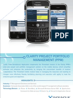 ClarityProjectPortfolioManagement(PPM)