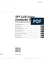 Sony Manual LCD x52 x72 x82