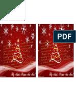 cartão de natal VALÉRIA E EGMONT
