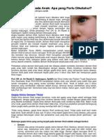 Demam Tifoid Pada Anak- Apa Yang Perlu Diketahui