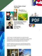 Pengertian Sebagai Seorang Islam