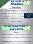Biotecnologia en La Bioquimica