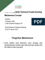 1 Maintenance Concept