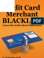 Credit Card Merchant Blacklist