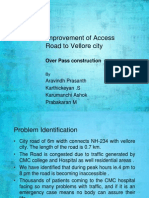 Overpass Design at Vellore