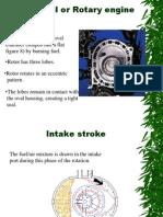 Wankel or Rotary Engine