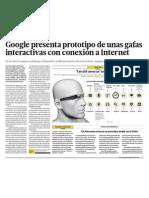 Google y su prototipo de lentes con acceso a Internet