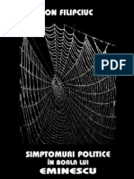 Filipciuc, Ioan - Sindromuri politice in boala lui Eminescu