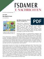 PNN Werder 01. 02. 2012